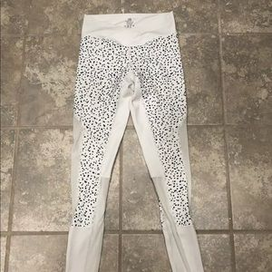 STRONG LIFTWEAR LEGGINGS WHITE XS